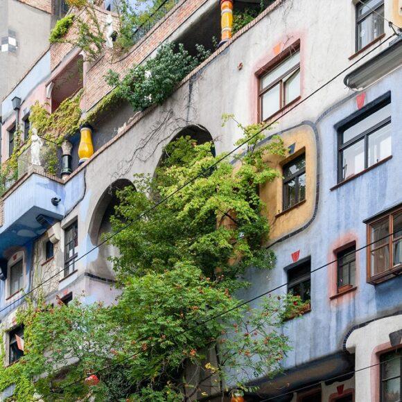 Kunsthaus von Friedensreich Hundertwasser in Wien-Landstraße