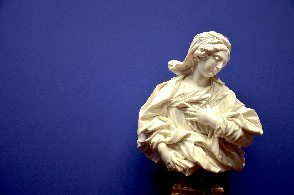 Bernini-Skulptur im Kunsthistorischen Museum