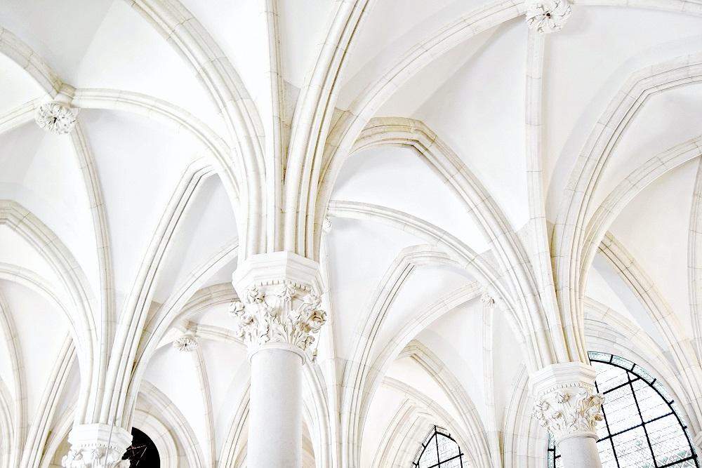 Gotische Gewölbe in der Augustinerkirche